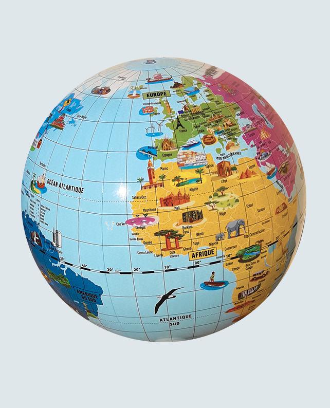 Caly Globe Maxi42 Merveilles du monde