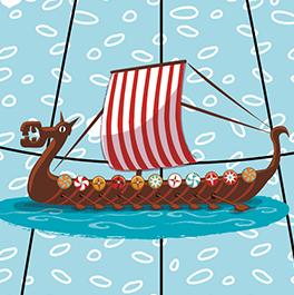 Caly Globe Maxi42 Merveilles du monde illustration