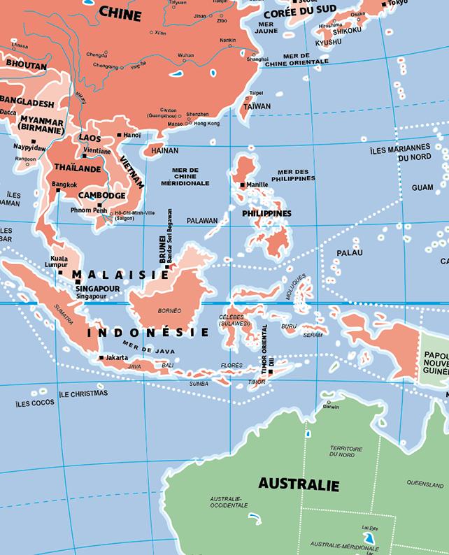 Caly Globe Maxi42 Pays et villes du monde