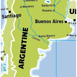 Caly Globe Maxi42 Pays et villes du monde illustration