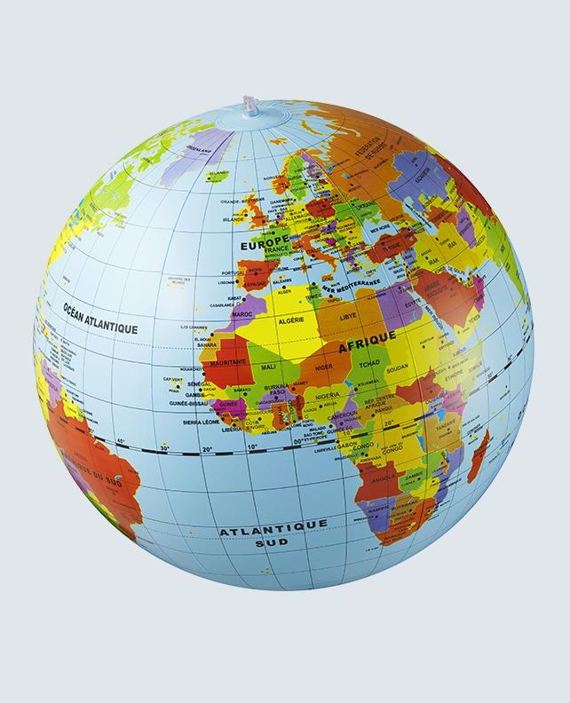 Caly Globe Maxi50 Le monde