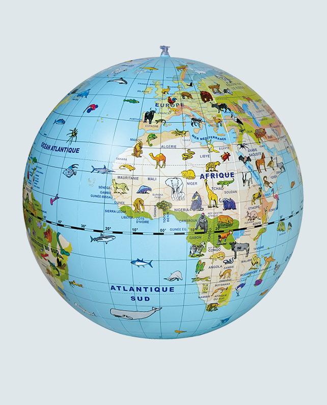 Caly Globe Maxi50 animaux