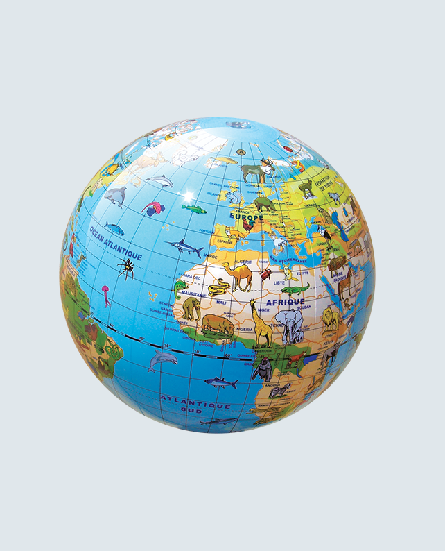Caly Globes classic animaux