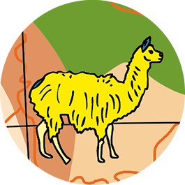 Caly Globes classic animaux illustration