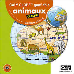 Caly Globes classic animaux pack