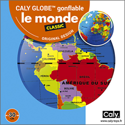 Caly Globes classic monde pack