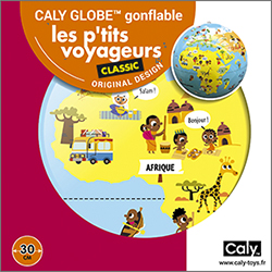 Caly Globes classic ptit voyageurs pack