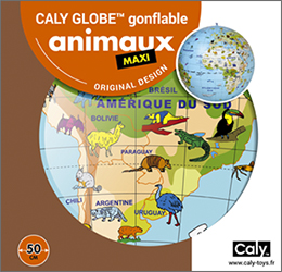 Caly Globes maxi animaux pack