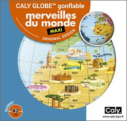 Caly Globes maxi merveilles du monde pack