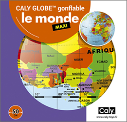 Caly Globes maxi monde pack