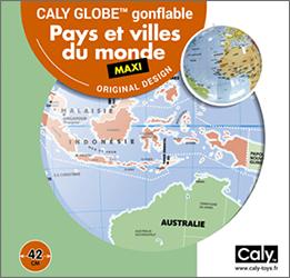Caly Globes maxi pays et ville du monde pack