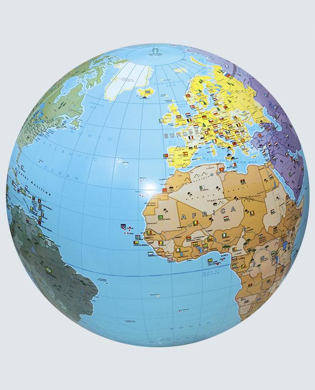Caly Globes XXL The World