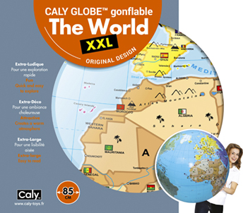 Caly Globes XXL The World pack