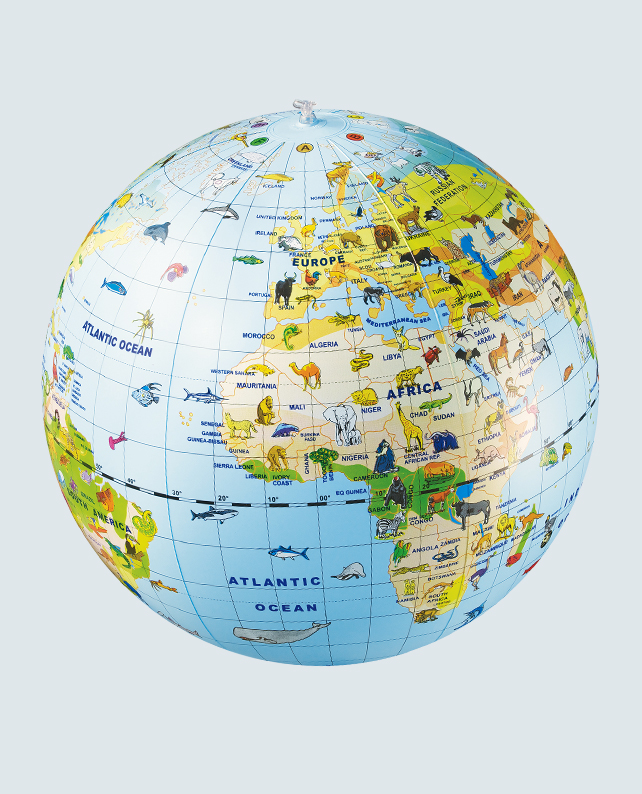 Caly Globe Maxi50 animal