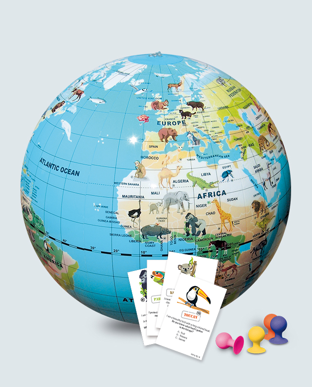 Caly Globes Games AnimalQuest