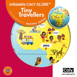 Caly Globes classic Tiny Travellers