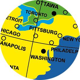 Caly Globes classic world