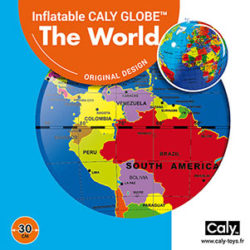 Caly Globes classic world pack