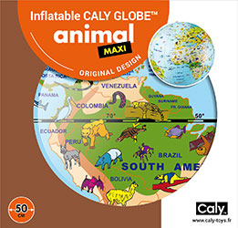 Caly Globes maxi animal pack