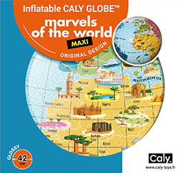 Caly Globes maxi marvels of the world pack