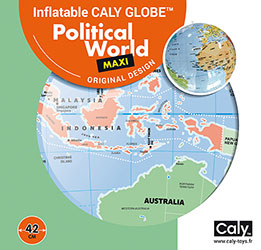 Caly Globes maxi political world