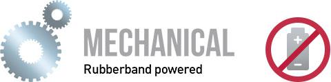 TimBird mechanical rubberband