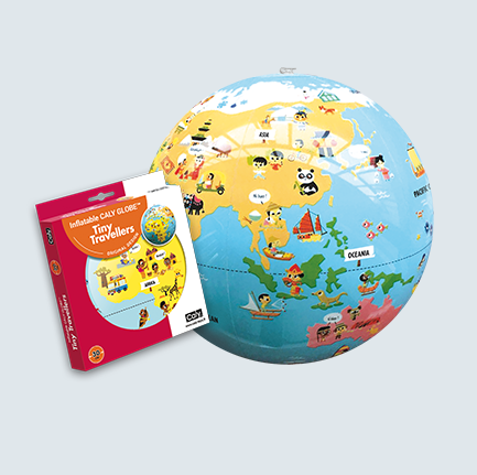 Tiny Travellers Caly Globe Classic